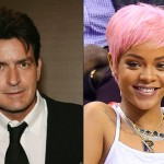 Charlie Sheen insulta a Rihanna
