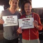 Robert Downey Jr y Chris Hemsworth