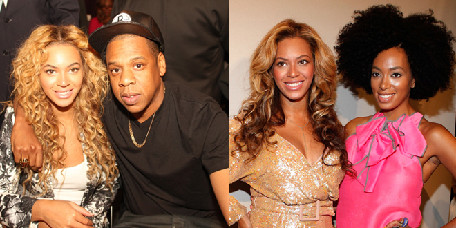 Beyonce, Jay Z y Solange