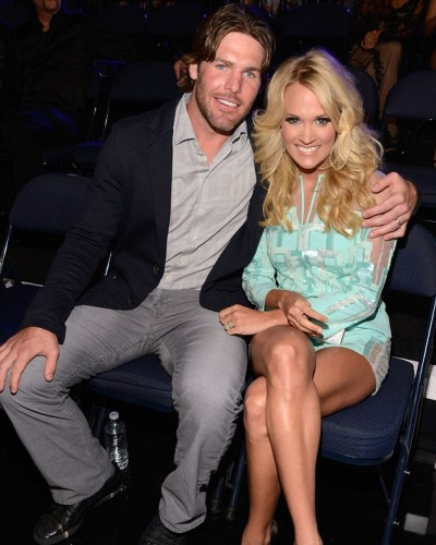 4. Carrie Underwood y Mike Fisher
