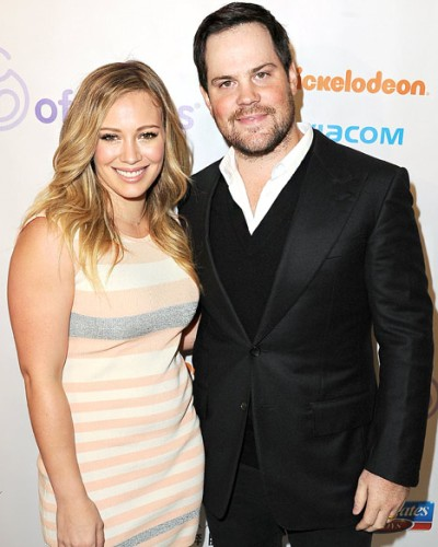 6. Hilary Duff y Mike Comrie