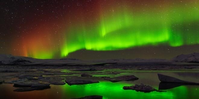 Aurora boreal en todo su esplendor