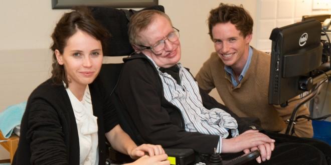 La película basada en la vida de Stephen Hawking