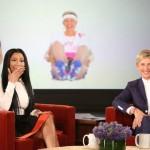 Ellen DeGeneres mueve su trasero como Nicki Minaj