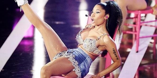 trasero de Nicki Minaj es falso