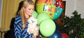 Paris Hilton enloquece de generosidad en un bar de Nueva York.