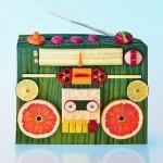 Esculturas hechas con alimentos