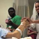 Conmovedor video de una novia y su padre agonizante