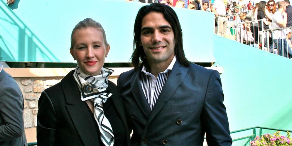 Falcao García y Lorelei Tarón están esperando su segundo bebé