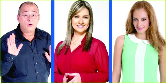 ¿Se van Jota Mario, Vicky Dávila y Laura Acuña de RCN?