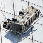 rescate de dos hombres que limpiaban vidrios a 69 pisos de altura