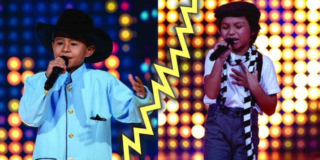 En la primera Súper Batalla de La voz Kids salieron dos gigantes