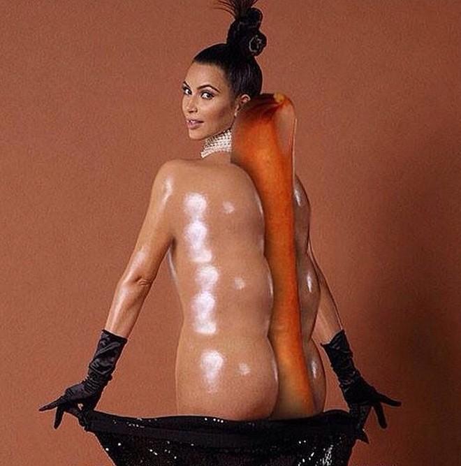 Naked ass kim ass lingerie nude