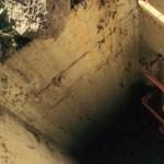 bebé fue encontrado vivo en un drenaje