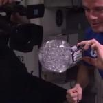 Video de astronautas