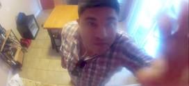 Puso una cámara para descubrir al ladrón de comida de su refrigerador y mira lo que descubrió