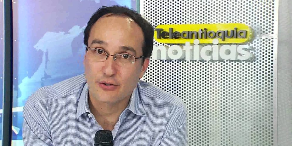 Juan David Arango, presentador de Teleantioquia