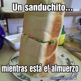 sanduchito exagerado