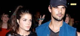 """La estrella de """"Crepúsculo"""" Taylor Lautner rompió la relación con su novia"""