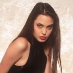 Angelina Jolie a los 16 años