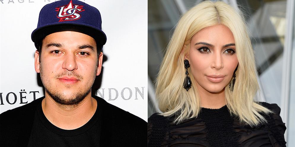 Kim Kardashian es insultada por su hermano