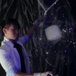 Sorprendente arte hecho con burbujas