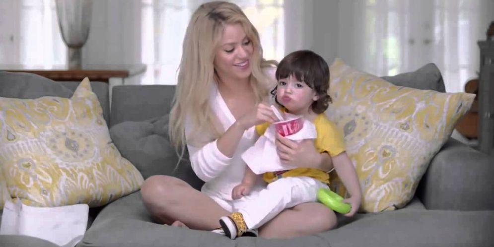Shakira compartió un video de su hijo Milan