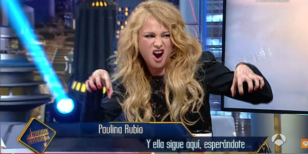 Paulina Rubio estaba borracha en una entrevista
