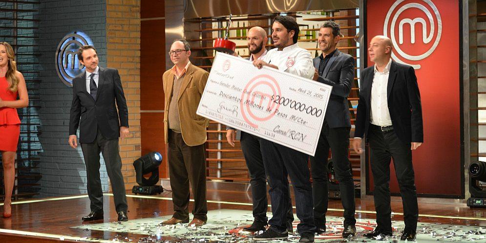 Federico Martínez MasterChef Colombia ganador