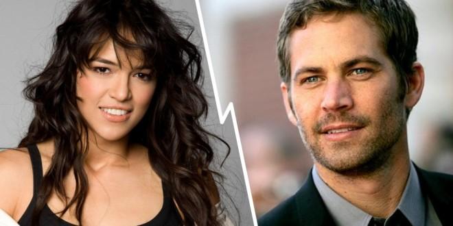 Michelle Rodríguez culpa a Paul Walker de su loca vida sexual durante el último año