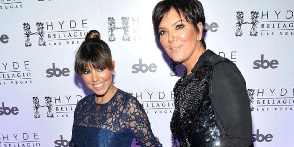 Kris Jenner felicitó a Kourtney Kardashian