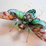 No te imaginas de que están hechos estos realistas insectos