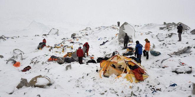 avalancha del monte Everest
