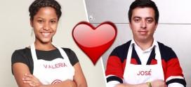 """¿Acaso José Fernando y Valeria """"se cuadraron"""" en MasterChef Colombia?"""