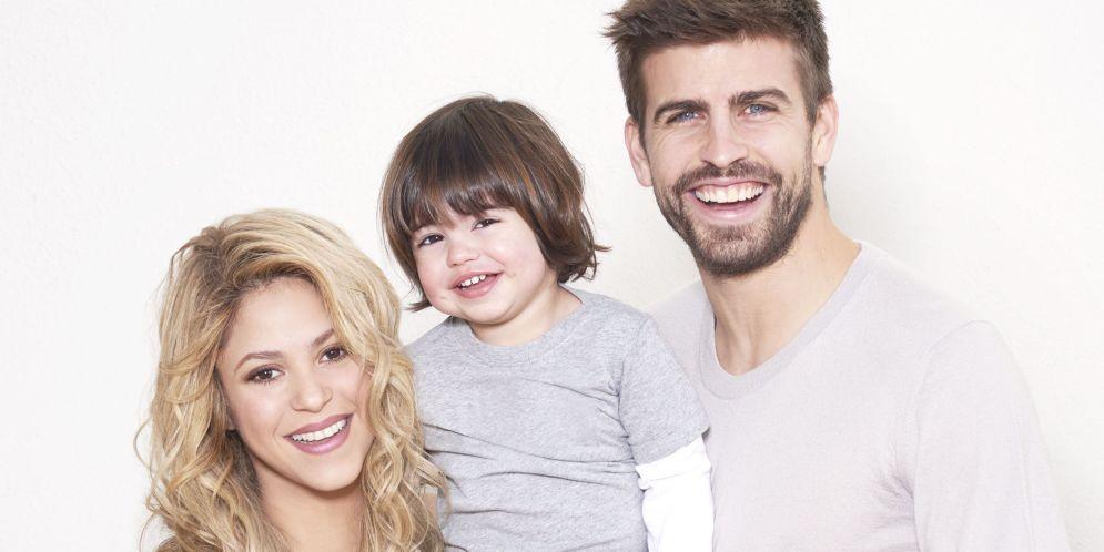 hijos de Shakira, Milan y Sasha