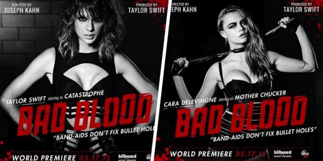 Taylor Swift lanzó el espectacular video de su canción Bad Blood