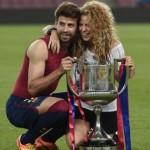 Shakira junto a Piqué