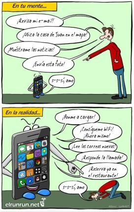esclavos del celular
