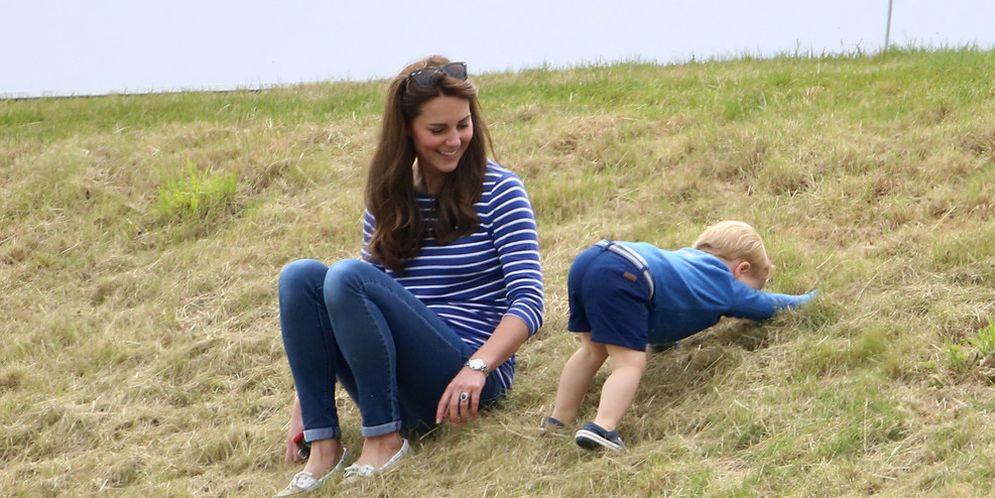 Kate Middleton y el príncipe Jorge
