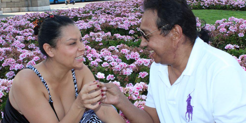 Consuelo Martínez la última novia de Diomedes Díaz