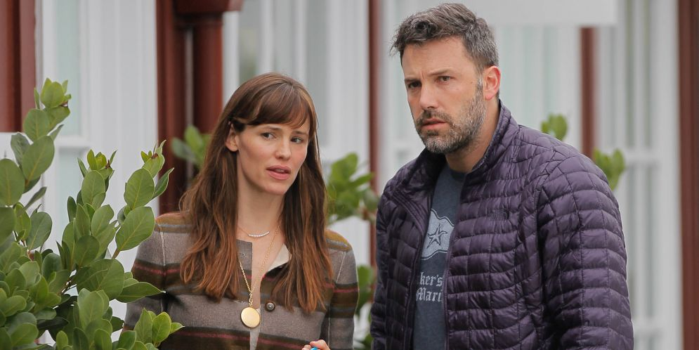 Así se ve de mal Ben Affleck luego de anunciar su divorcio de Jennifer Garner