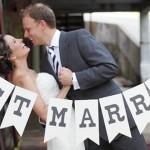 peor entrada de unos novios a su fiesta de bodas