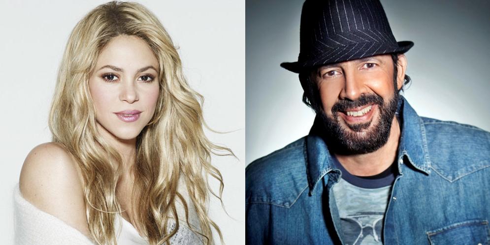 Shakira pasa vergonzoso momento con Juan Luis Guerra