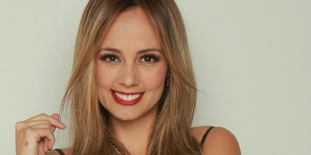 Milena López sin maquillaje