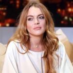 Fotos de Lindsay Lohan bañándose en el mar sin vestido de baño