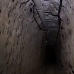 túnel por el que se voló el Chapo Guzmán