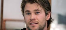 Chris Hemsworth cambió su imagen de galán y ahora se ve como un nerd. ¡Mira la foto!