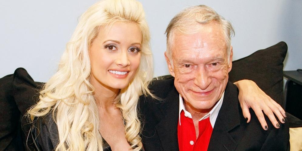 Holly Madison exconejita de Playboy y Hugh Hefner