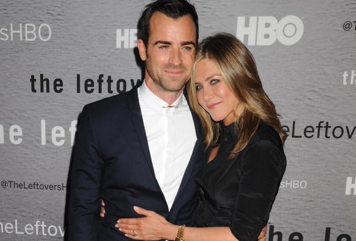 Jennifer Aniston se casó con Justin Theroux