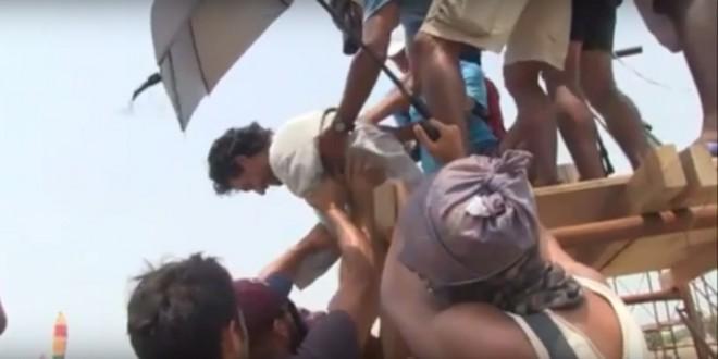 ¡Se desplomó en el reality! Video de la emergencia médica en el Desafío India 2015